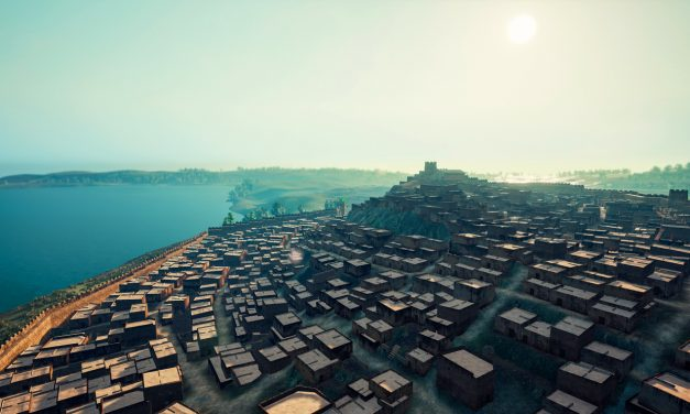 Ullastret, 250 B.C. A virtual reconstruction of an Iron Age Town