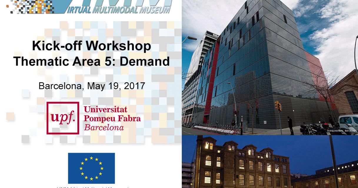 TA5 Working groups Kick-off workshop in Barcelona