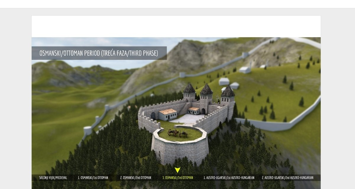 White Bastion project – interactive digital storytelling for cultural heritage presentation