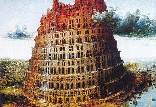 The Tower of Babel (circa 1568) by Pieter Bruegel the Elder Museum Boijmans Van Beuningen