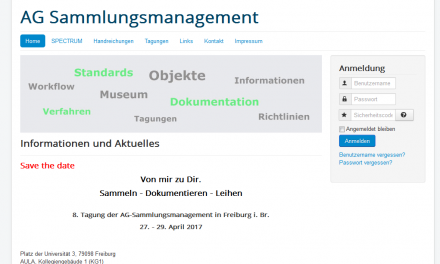 Conference on Collection Management in Museums