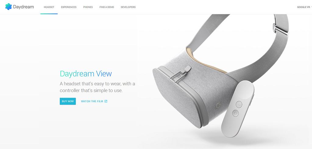 Google Dayream VR