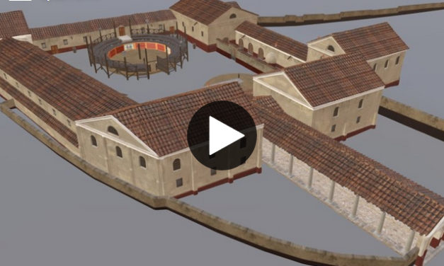 Roman Gladiator School in Carnuntum /Austria