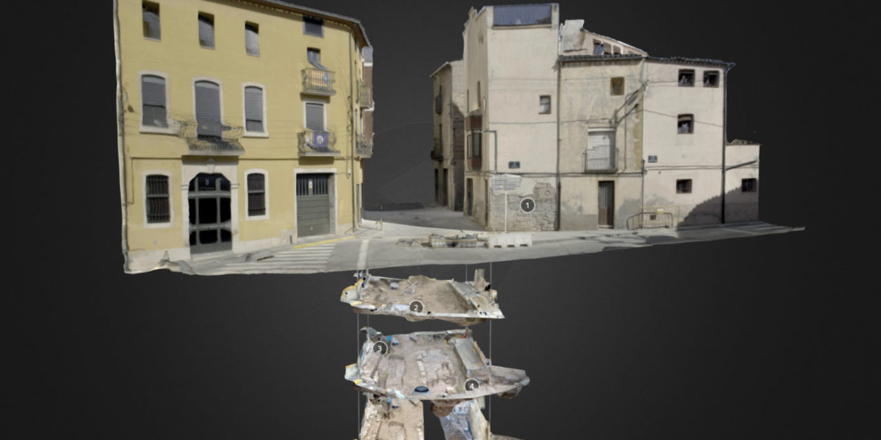 Archeology layers visualitzation