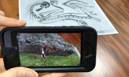 AR Indigital Storytelling app