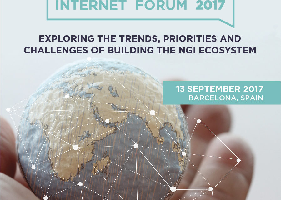 The Next Generation Internet Forum 2017 in Barcelona