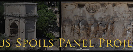 Arch of Titus Spoils Panel Project