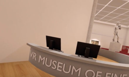 The VR Museum of Fine Art – Interactive Gaming Experience