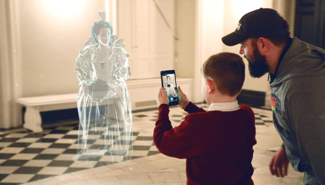 Bringing the past to life: Google Tango AR at Queen's House