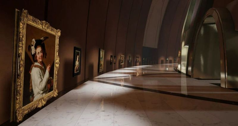 A new Virtual Museum with the help of virtual reality
