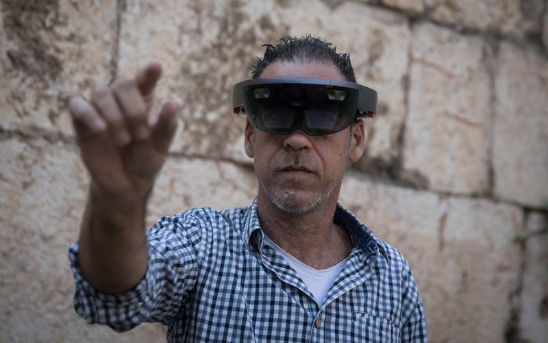 Virtual and augmented reality technologies become part of the Tower of David museum.