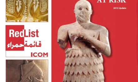 Emergency Red List of Iraqi Cultural Objects at Risk – 2015 Update