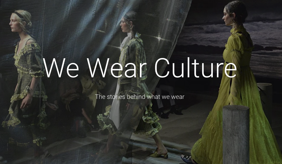 Google has built a stunning, searchable archive of 3,000 years of world fashion