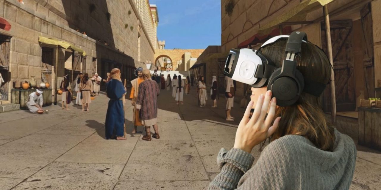 VR Visit to the Holy Temple in Jerusalem