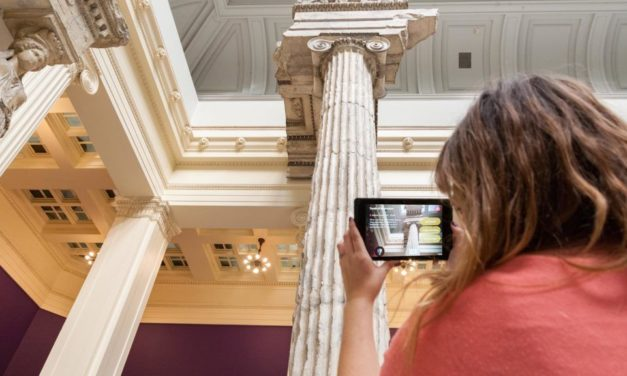 Time travel with the help of augmented reality at Carnegie Museum of Art