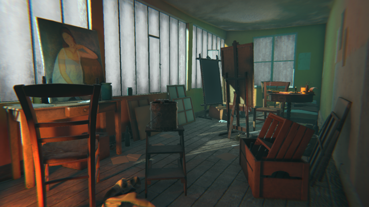 Modigliani VR:The Ochre Atelier by TATE Modern