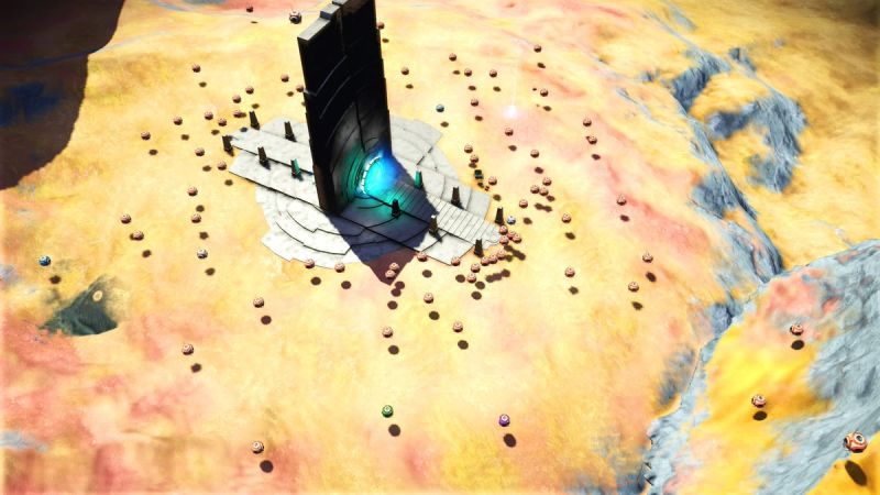Archeologist Digs Into Remains of No Man's Sky Abandoned Player Civilization