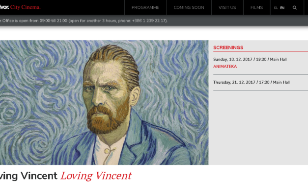 Z ljubeznijo, Vincent: Van Goghova skrivnost – Kinodvor