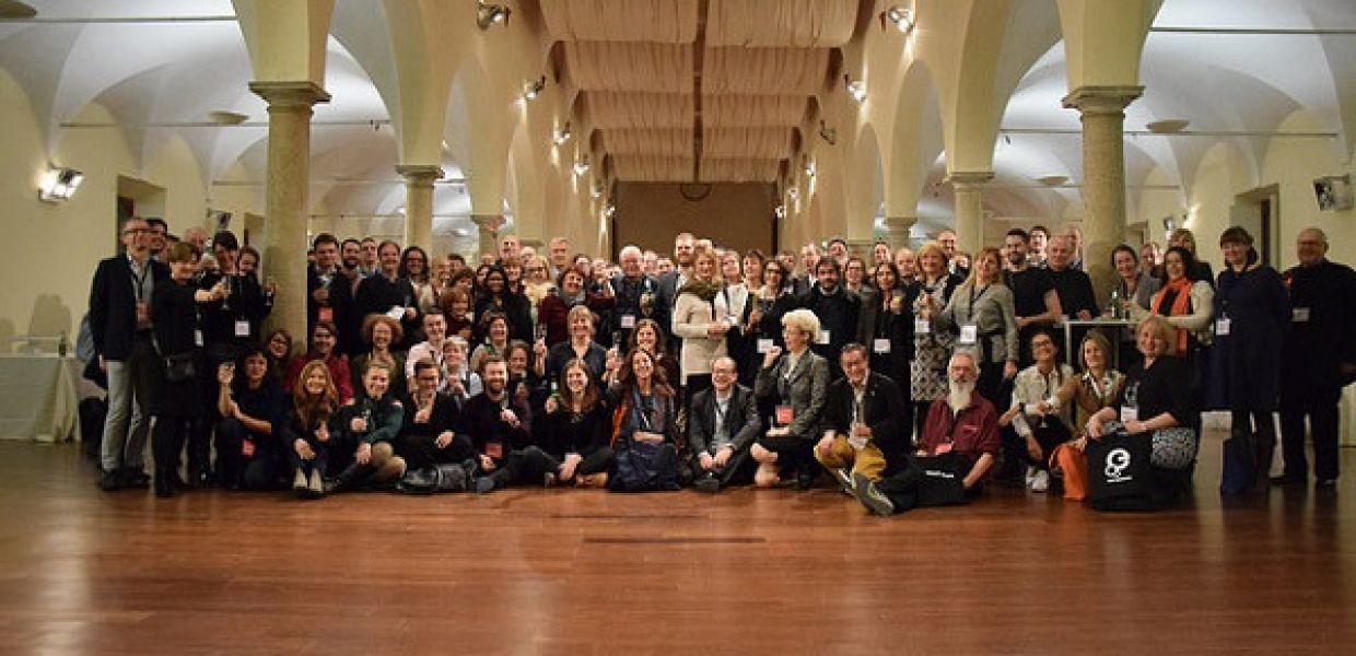 The digital heritage lab attended the general assembly meeting of Europeana in Milan, Italy.