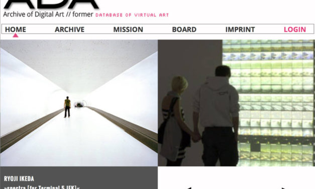 The Archive of Digital Art (ADA)
