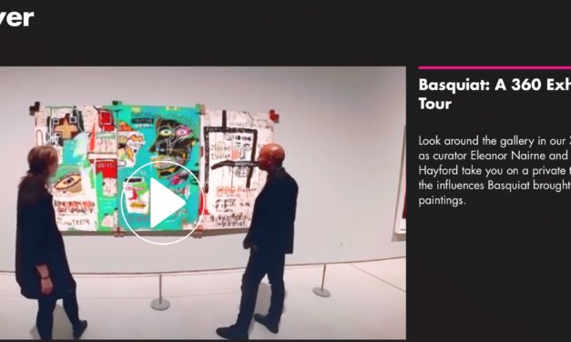 Basquiat in Barbican: 360 exhibition tour