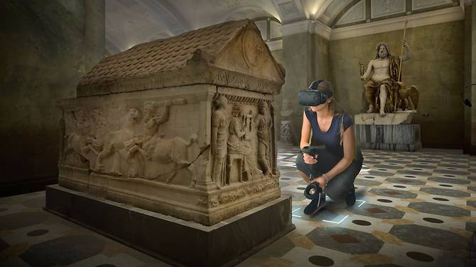 Immersive Virtual Reality experiences at the National Museum of Singapore