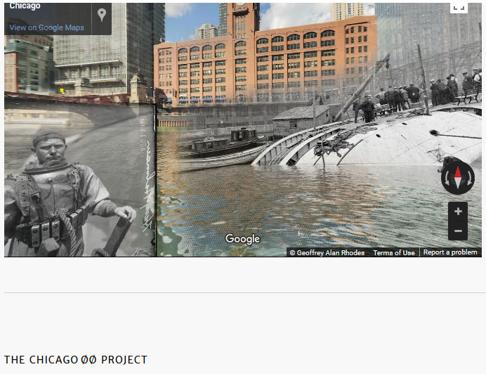 Superimposed photos/videos of historic events – how VR could be included?