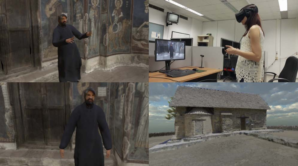 mobile, rapid reconstruction for VR heritage simulation