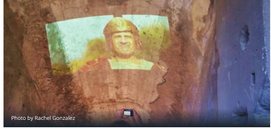 Light Projection – A new virtual experience in Roman museums, sites