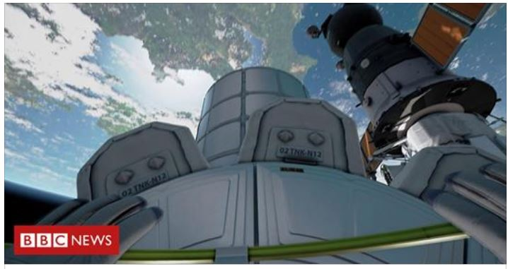 VR spacewalk lets you fly over Earth