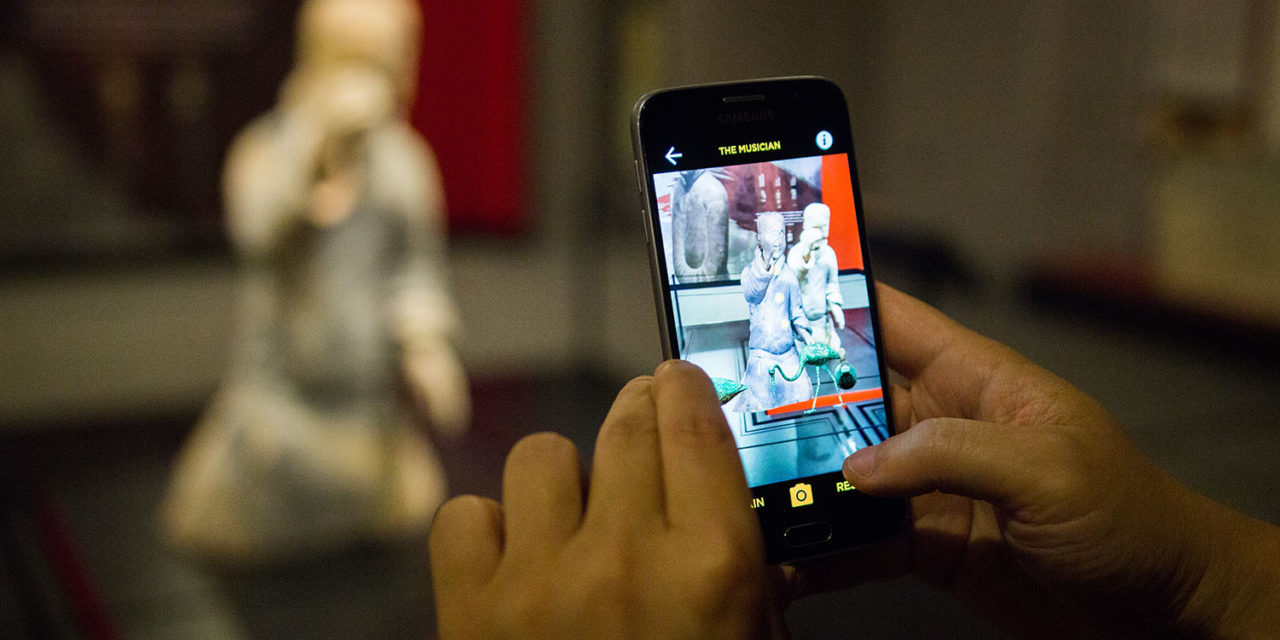 Experience the Terracotta Warriors in augmented reality