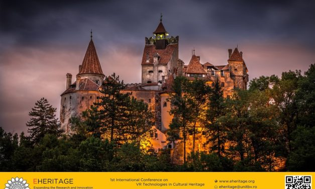 1st International Conference on VR Technologies in Cultural Heritage, Brașov, Romania, 29-30 May, 2018
