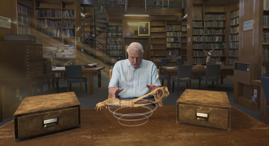A Natural History Museum VR tour with Sir David Attenborough