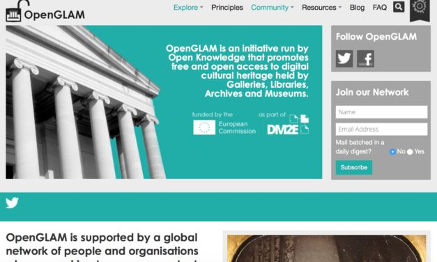 OPENGLAM: Open access to cultural heritage
