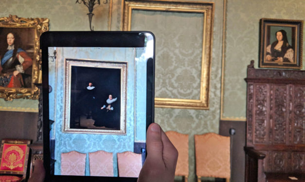 An AR app returns stolen Gardner paintings to their frames