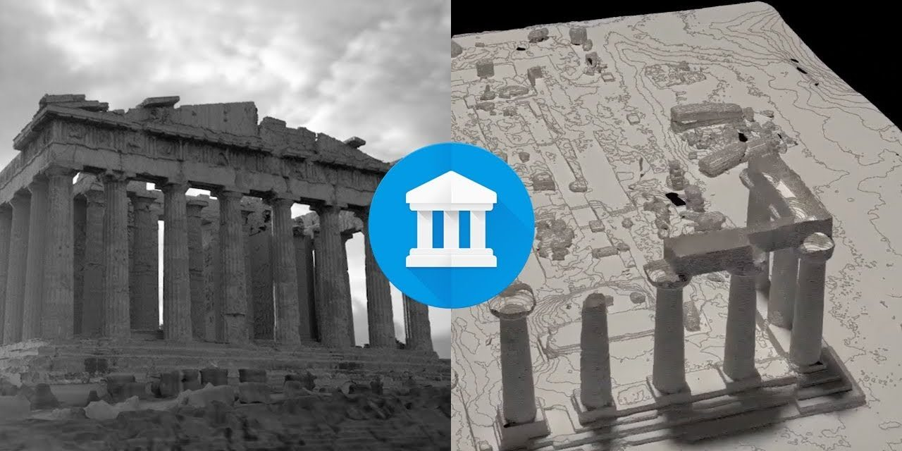 3D Scanning of the World's Historical Sites and Providing Open Access to Data by Google and CyArk