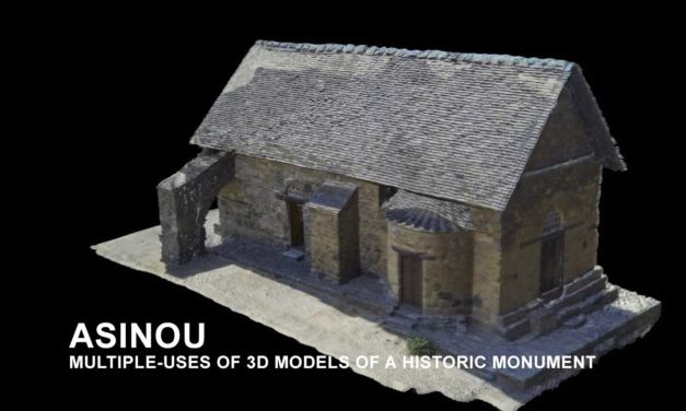 ASINOU MULTIPLE-USES OF 3D MODELS OF A HISTORIC MONUMENT