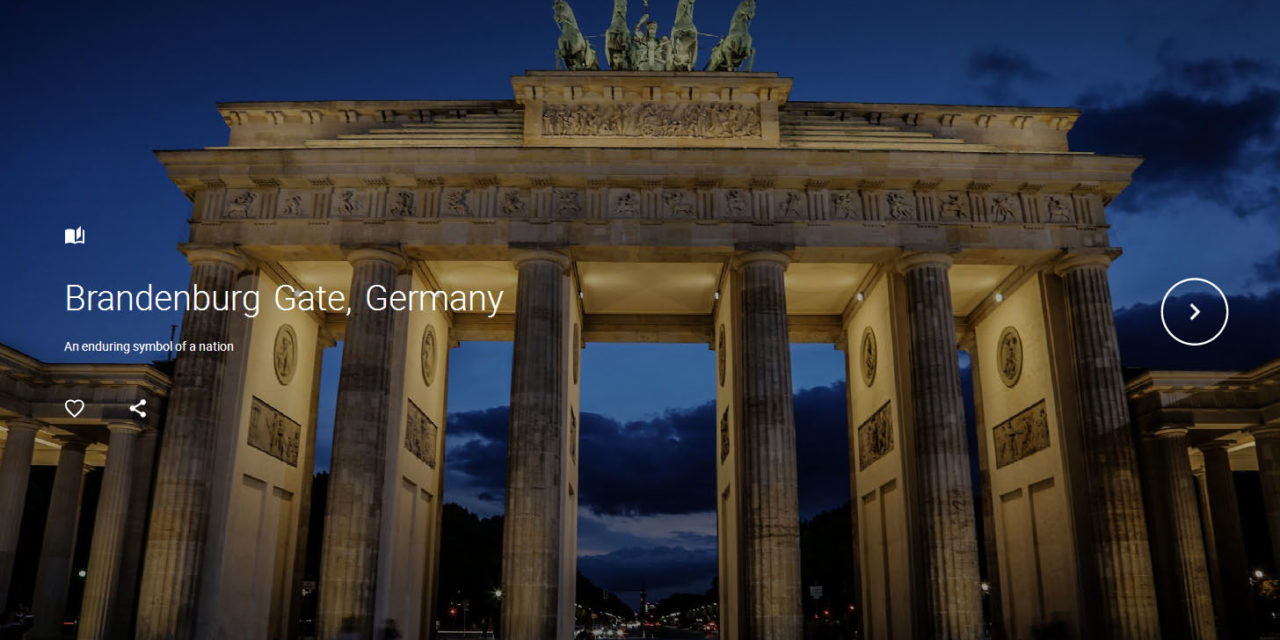 Brandenburg Gate, Germany & CyArk