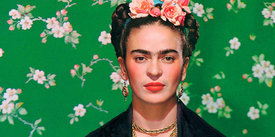 Faces of Frida Kahlo