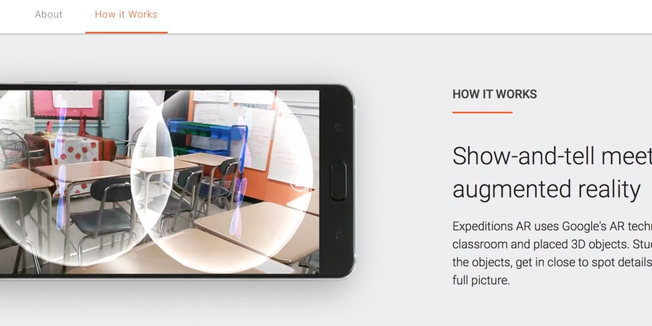 Google Expeditions AR Tours