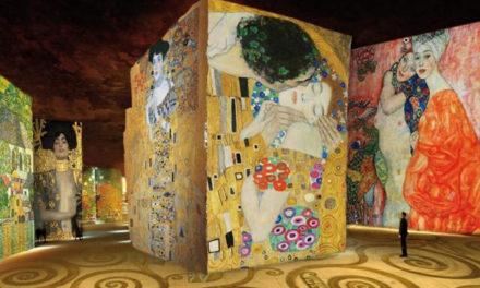 Paris : une exposition numérique immersive sur Gustav Klimt