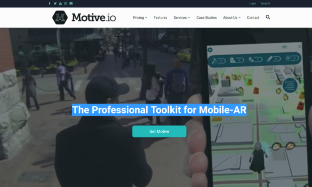 Motive – The Professional Toolkit for Mobile AR