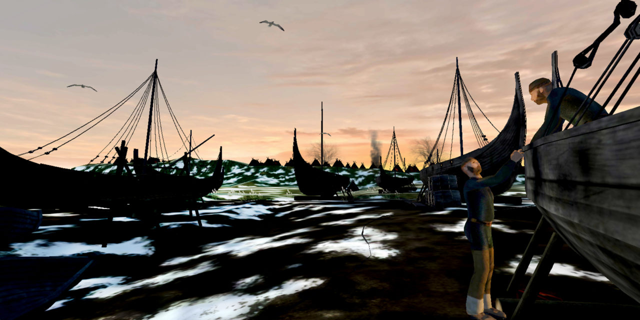 Reviving a Viking Camp with the help of Virtual Reality at the Yorkshire Museum