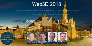 Web3D 2018 @ Poznań University of Economics and Busines