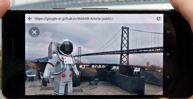 Web based augmented reality