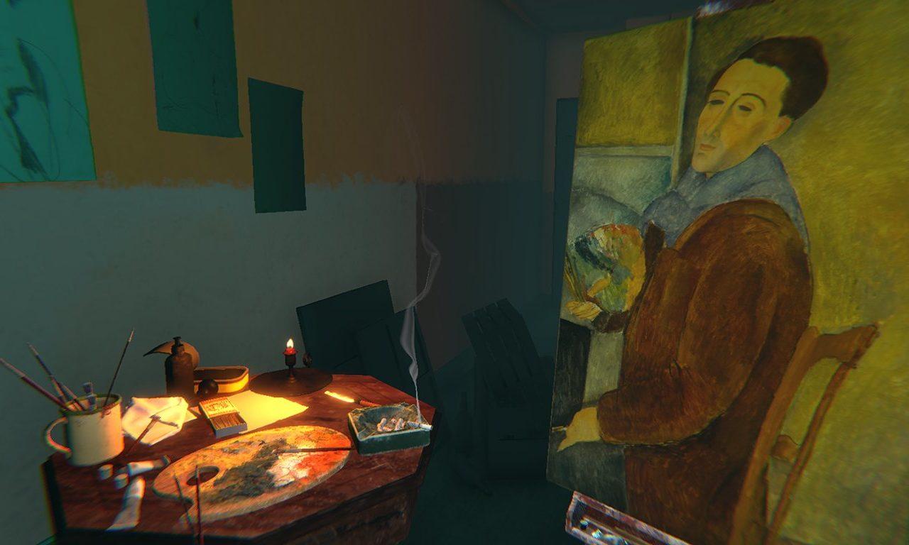 Modigliani VR Experience: The Ochre Atelier