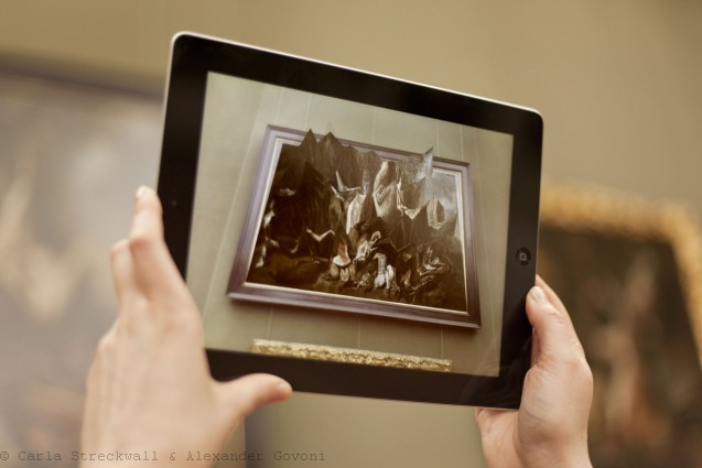 Museum hijacked with a Guerilla Exhibition in Augmented Reality