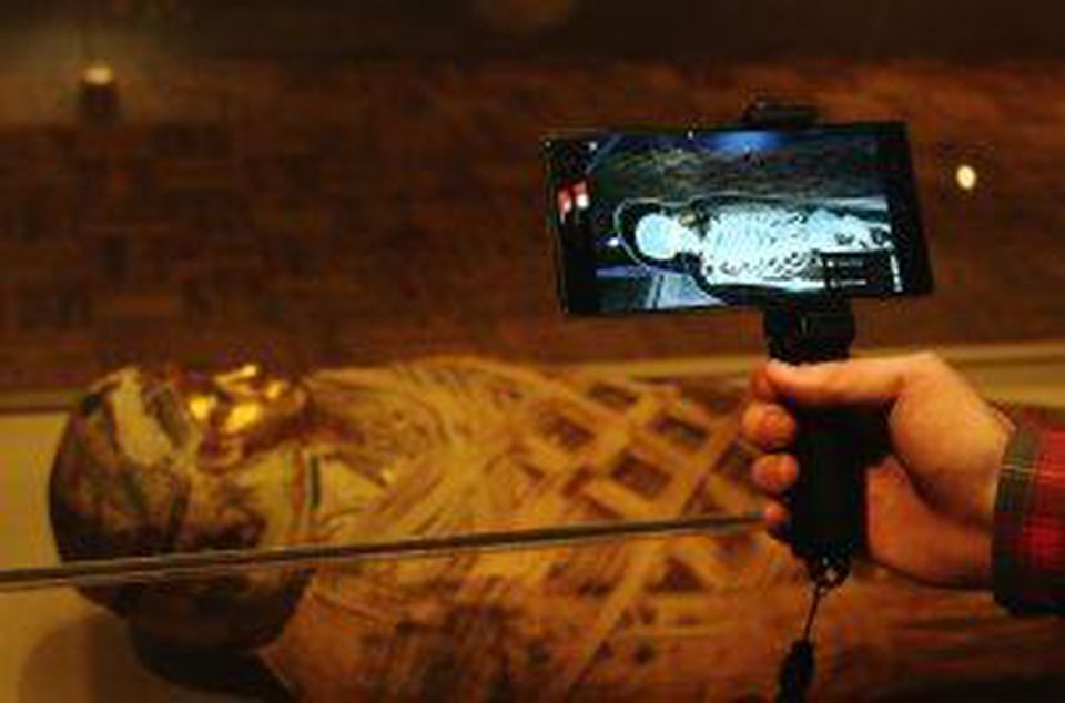 See How This Museum Uses Augmented Reality To See Inside A Mummy