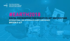 #EARTH2018 Digital Environments for Education, Arts and Heritage