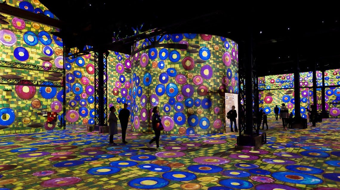 Paris's first digital art museum: all lit up at Atelier des Lumières